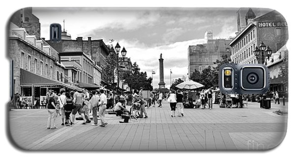 Old Montreal Jacques Cartier Square Galaxy S5 Case