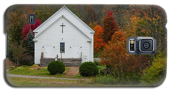 Old New England Church Galaxy S5 Case