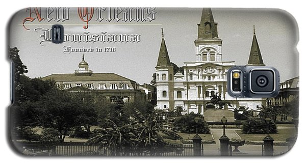 Old New Orleans Louisiana - Founded 1718 Galaxy S5 Case