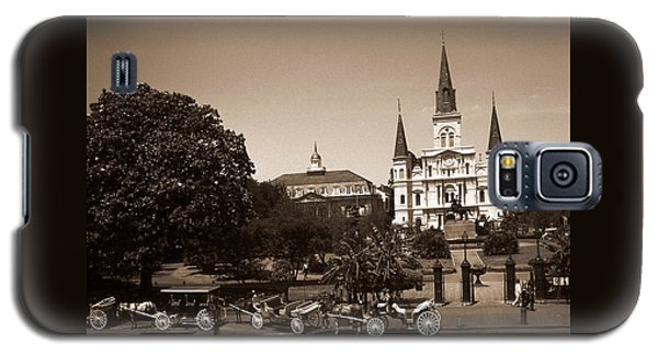 Old New Orleans Photo - Saint Louis Cathedral Galaxy S5 Case