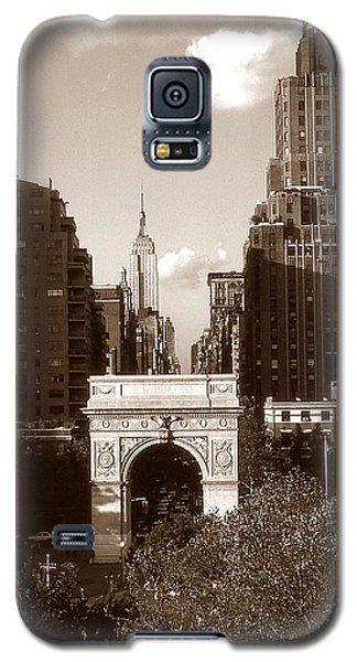 Washington Arch And New York University Galaxy S5 Case