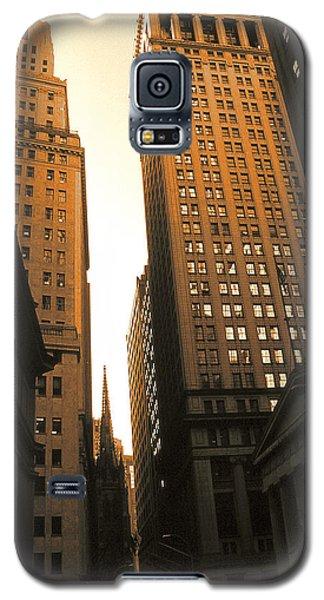Old New York Wall Street Galaxy S5 Case