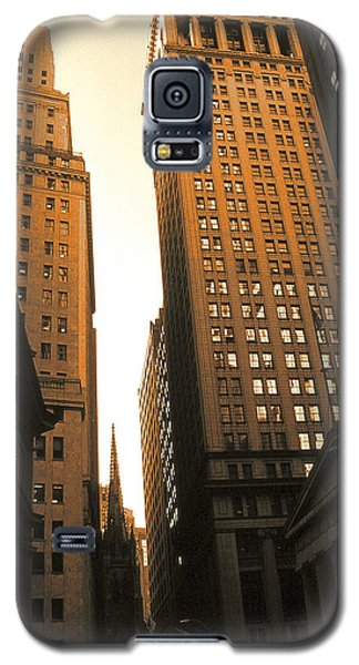 Old New York Wall Street Galaxy S5 Case