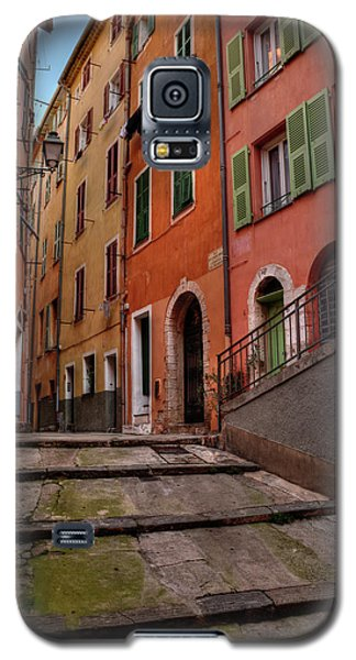 Galaxy S5 Case featuring the photograph Old Nice - Vieille Ville 002 by Lance Vaughn