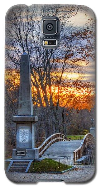 Old North Bridge - Concord Ma Galaxy S5 Case