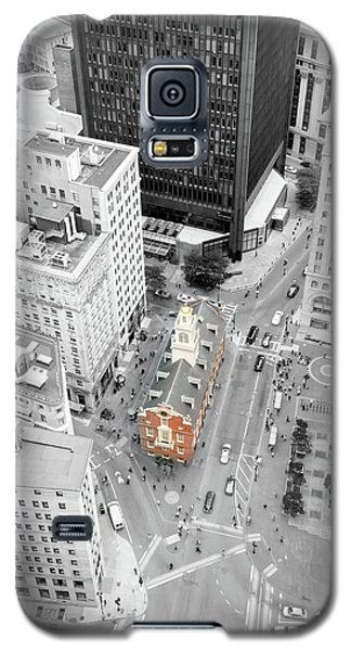 Galaxy S5 Case featuring the photograph Old State House by Greg Fortier