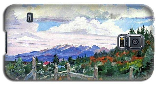 Old North Fence-in Colorado Galaxy S5 Case