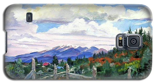 Old North Fence-in Colorado Galaxy S5 Case