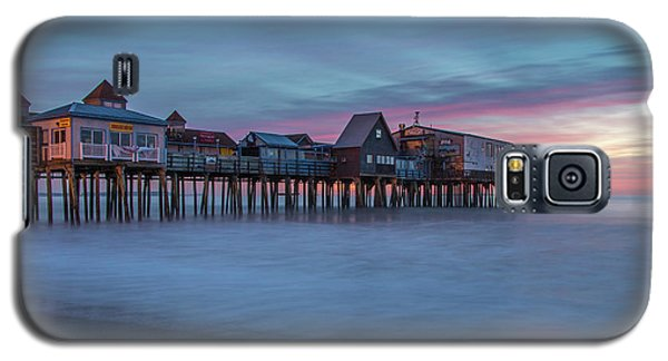Old Orcharch Beach Pier Sunrise Galaxy S5 Case