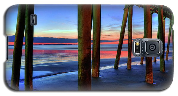 Galaxy S5 Case featuring the photograph Old Orchard Beach Pier -maine Coastal Art by Joann Vitali