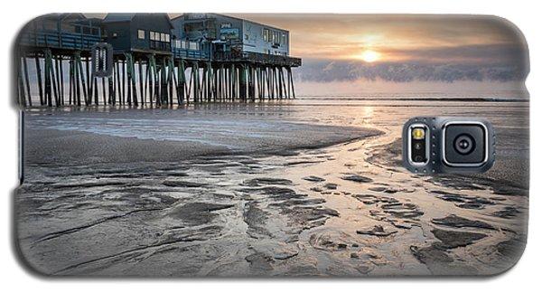 Old Orchard Beach Sea Smoke Sunrise Galaxy S5 Case