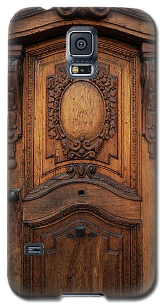 Old Ornamented Wooden Doors Galaxy S5 Case by Jaroslaw Blaminsky