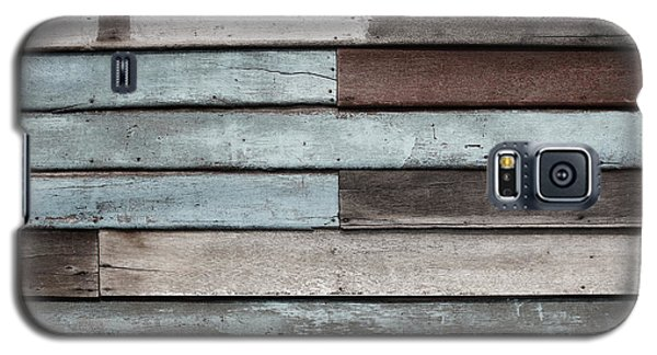 Galaxy S5 Case featuring the photograph Old Pale Wood Wall by Jingjits Photography