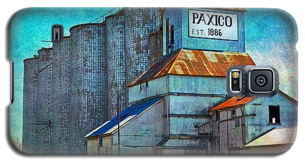 Old Paxico Kansas Grain Elevator Galaxy S5 Case