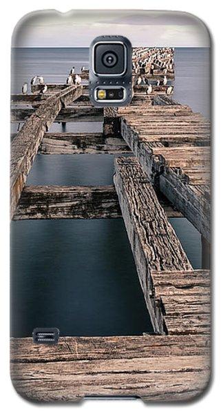 Old Pier In Punta Arenas Galaxy S5 Case