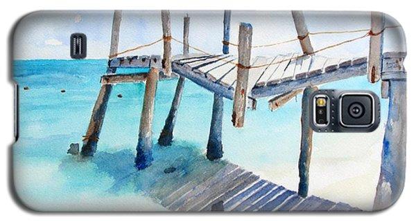 Old Pier On Playa Paraiso Galaxy S5 Case