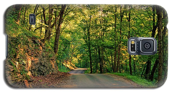 Galaxy S5 Case featuring the photograph Old Plank Road by Cricket Hackmann