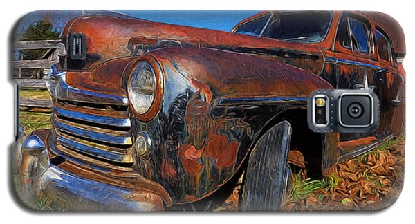 Old Police Car Galaxy S5 Case
