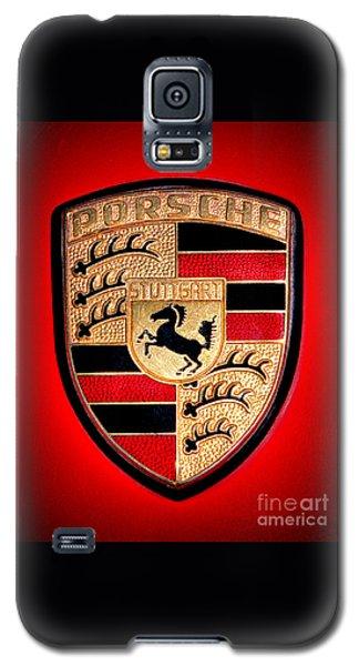 Old Porsche Badge Galaxy S5 Case