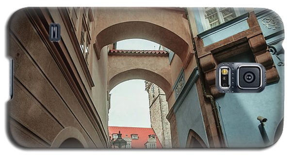 Galaxy S5 Case featuring the photograph Old Prague Architecture 1 by Jenny Rainbow