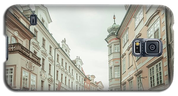 Galaxy S5 Case featuring the photograph Old Prague Buildings. Staromestska Square by Jenny Rainbow