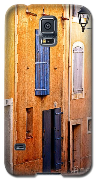 Galaxy S5 Case featuring the photograph Old Provence Village Street by Olivier Le Queinec