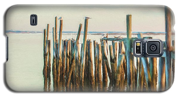 Old Provincetown Wharf Galaxy S5 Case