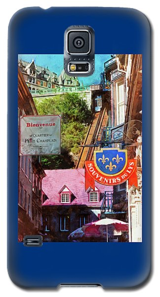 Old Quebec City Funicular Galaxy S5 Case