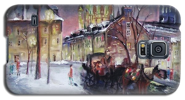 old Quebec Galaxy S5 Case by Peter Suhocke
