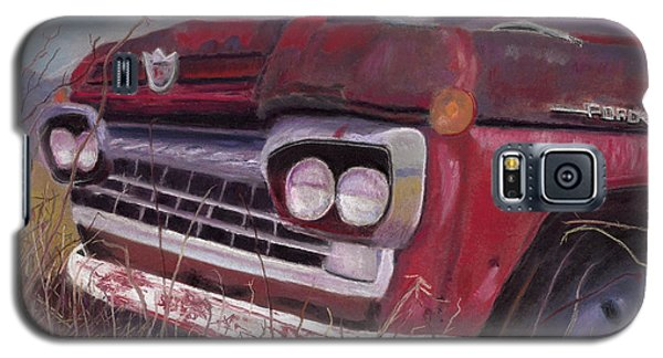 Galaxy S5 Case featuring the painting Old Red by Arlene Crafton