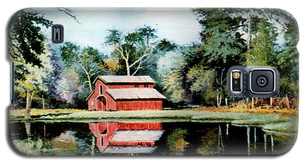 Old Red Barn Galaxy S5 Case