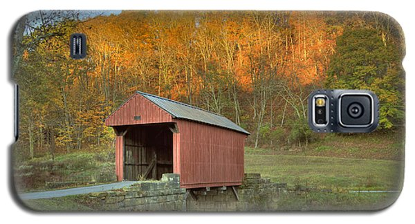 Old Red Or Walkersville Covered Bridge Galaxy S5 Case
