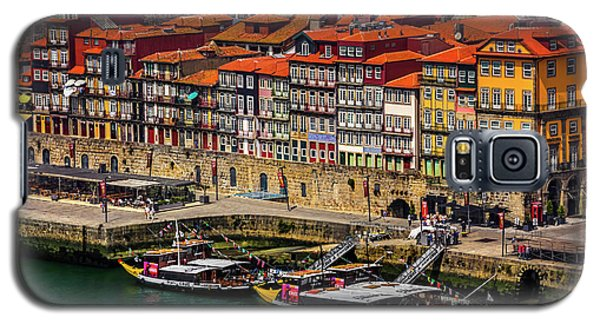 Galaxy S5 Case featuring the photograph Old Ribeira Porto  by Carol Japp