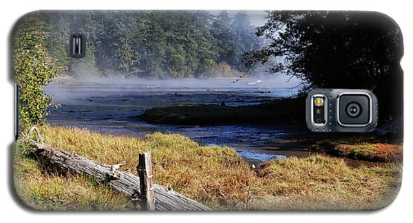 Old River Scene Galaxy S5 Case