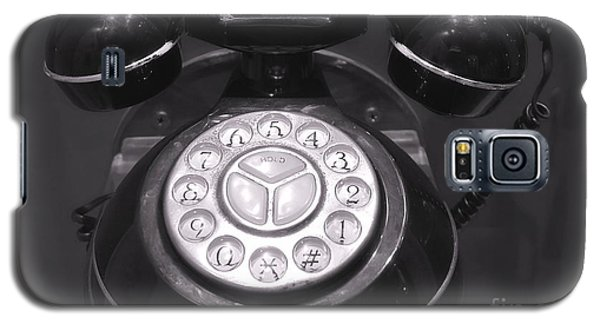 Old Rotary Dial Telephone Galaxy S5 Case by Yali Shi