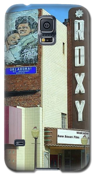 Old Roxy Theater In Muskogee, Oklahoma Galaxy S5 Case