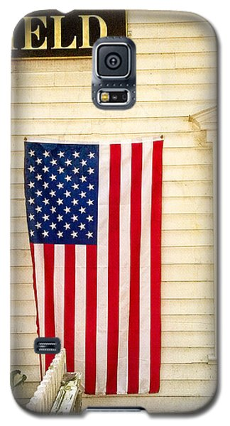 Old Rugged Field Flag Galaxy S5 Case