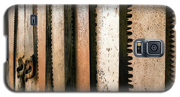 Retired Rusted Saws Galaxy S5 Case by Lexa Harpell