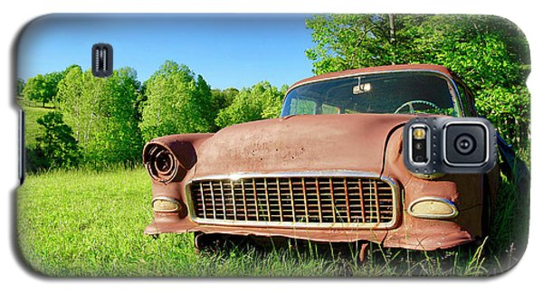 Old Rusty Car Galaxy S5 Case