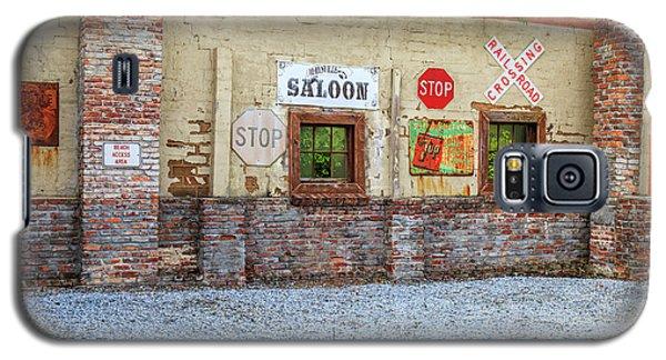 Old Saloon Wall Galaxy S5 Case