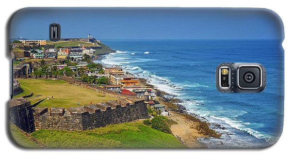 Old San Juan Coastline Galaxy S5 Case
