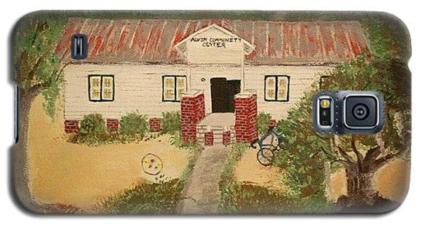 Alvin South Carolina Old School House Galaxy S5 Case