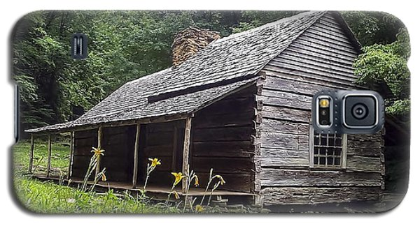 Old Settlers Cabin Smoky Mountains National Park Galaxy S5 Case