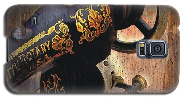 Old Sewing Machine Galaxy S5 Case by Bob Salo