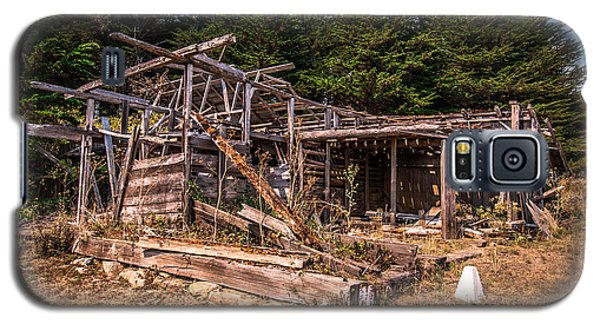 Old Shack In Cambria Pines Galaxy S5 Case