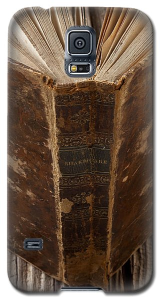 Old Shakespeare Book Galaxy S5 Case