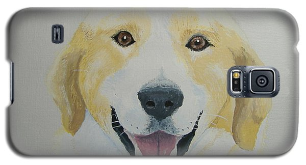 Galaxy S5 Case featuring the painting Old Shep by Norm Starks