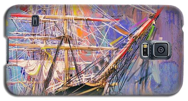 Old Ship 226 4 Galaxy S5 Case by Mawra Tahreem