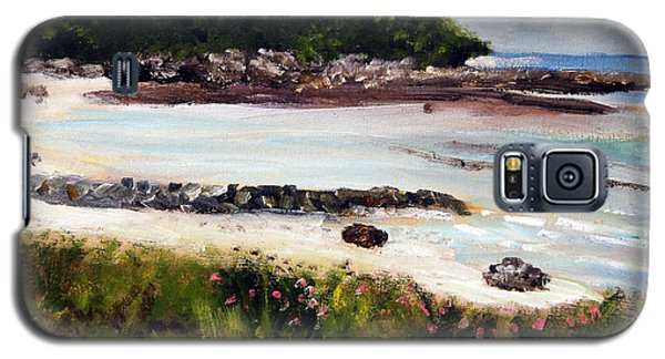 Old Silver Beach Falmouth Galaxy S5 Case by Michael Helfen