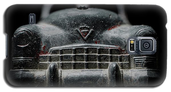 Old Silver Cadillac Toy Car With Specks Of Red Paint Galaxy S5 Case
